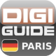 Digi-Guide Paris iPhone Allemand